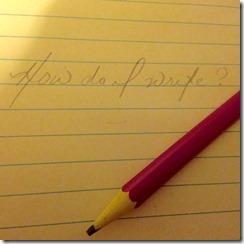 how do i write