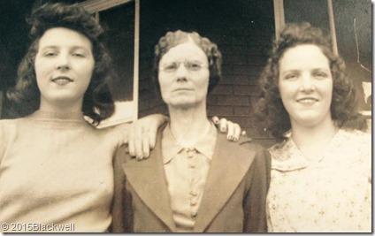 Grandma Maude, Great Grandma Gertrude, and Great Aunt Madge